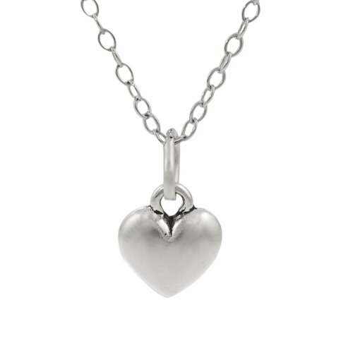 Children's Sterling Silver Heart Necklace