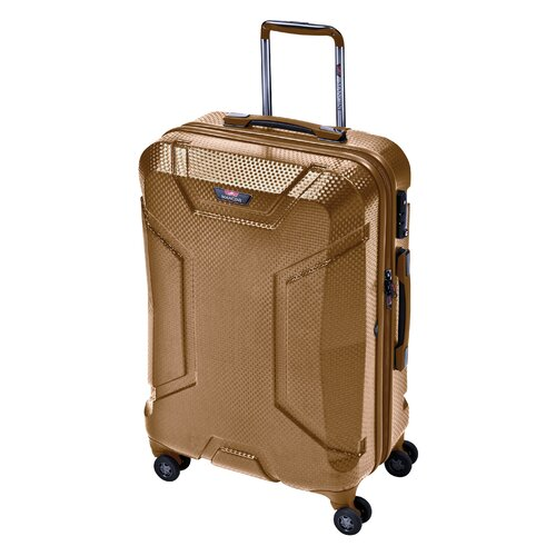 "Mancini Armadillo 24"" Hardsided Spinner Suitcase"