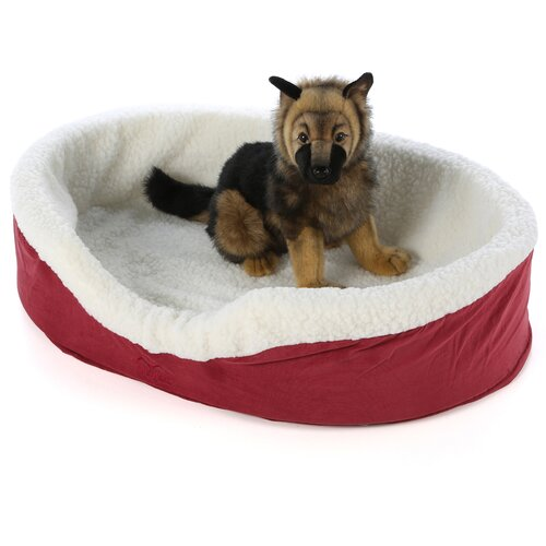 Midwest Homes For Pets Quiet Time e'Sensuals Orthopedic Bolster Dog Bed