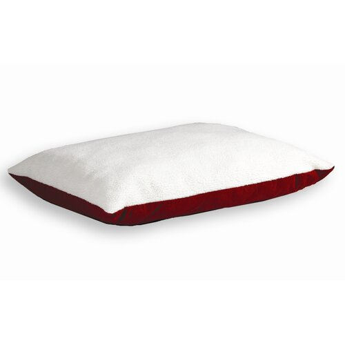 Quiet Time e'Sensuals Synthetic Sheepskin and Poly-Cotton Encased Extra Stuffed Polyfiber ...