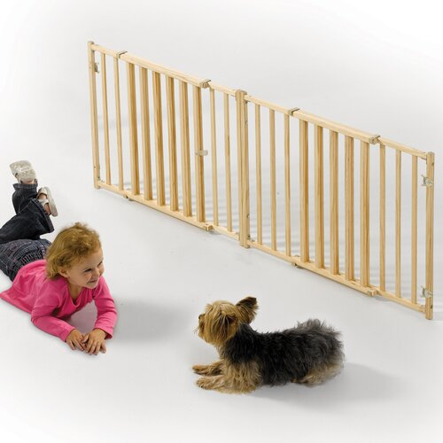 Midwest Homes For Pets Extra Wide Rail and Baluster Pet Gate