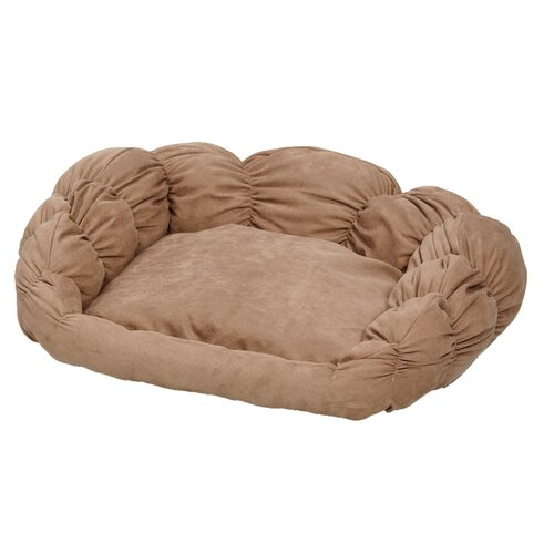 Midwest Homes For Pets Quiet Time Scalloped Shar-Pei Bolster Dog Bed