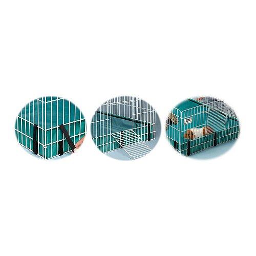 how to make a guinea pig playpen