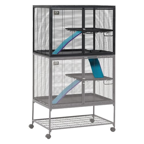 Ferret Cages : ... Pets Critter Nation Ferret Add On Unit Cage & Reviews Wayfair Supply