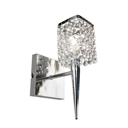 Bazz Glam 1 Light Wall Sconce