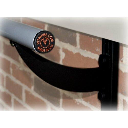 Vita Vibe Wall Barre Series Modern Aluminum Adjustable Height Ballet Barre Kit