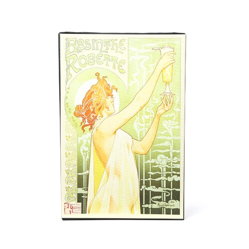 Art Wall ''Absinthe Robette'' by Privat Livermont Vintage Advertisement Canvas