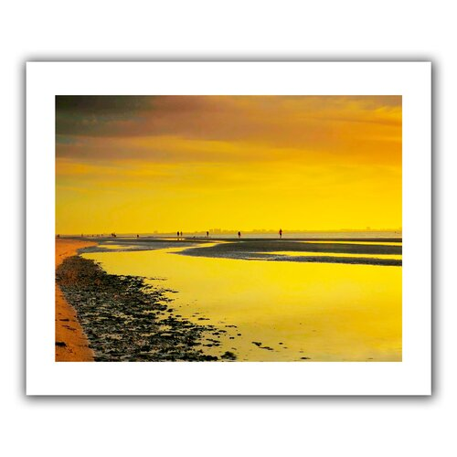 'Mellow Yellow Morning' by Steven Ainsworth Unwrapped on Canvas
