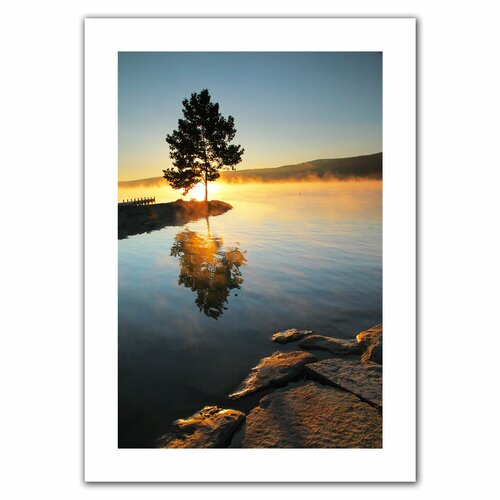 Art Wall 'Witness to the Dawn' by Steven Ainsworth Canvas Poster