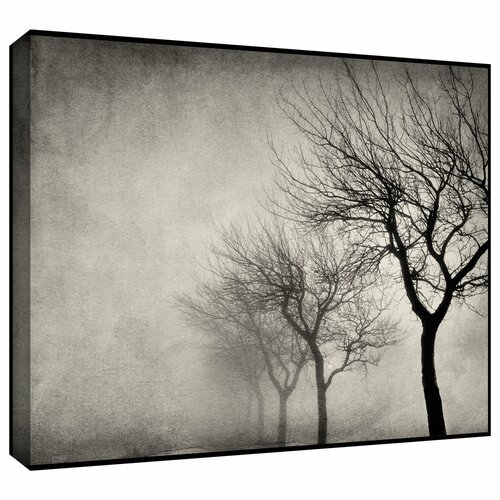 'Early Morning Sepia' by Cora Niele Gallery Wrapped on Canvas