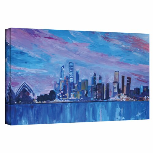 'Sydney' by Martina and Markus Bleichner Gallery Wrapped on Canvas