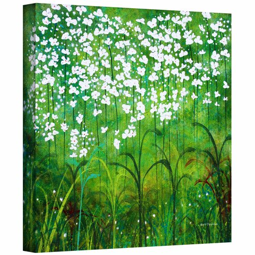 'Spring Garden' by Herb Dickinson Gallery Wrapped on Canvas