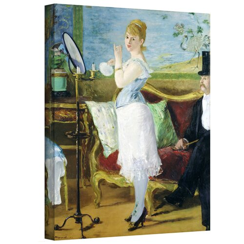 'Nana' by Edouard Manet Gallery-Wrapped on Canvas