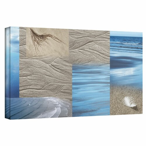 'Sand Sea' by Cora Niele Gallery Wrapped on Canvas