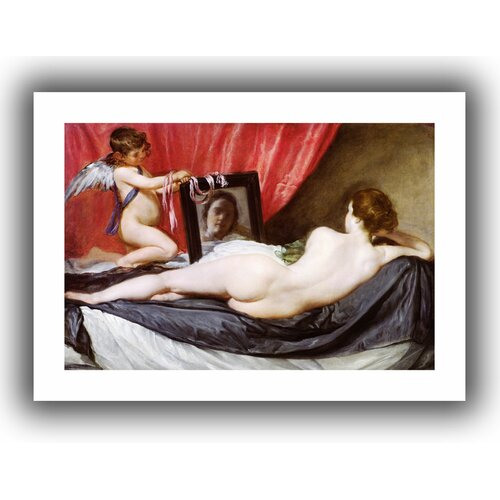 'The Rokeby Venus' by Diego Velazquez Canvas Poster