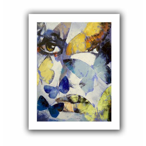 'Gothic Butterflies' by Michael Creese Canvas Poster