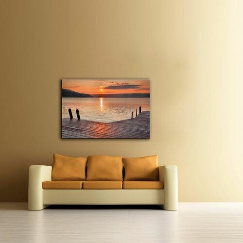 Art Wall 'Another Kekua sunrise' by Steve Ainsworth Photographic Print on Canvas
