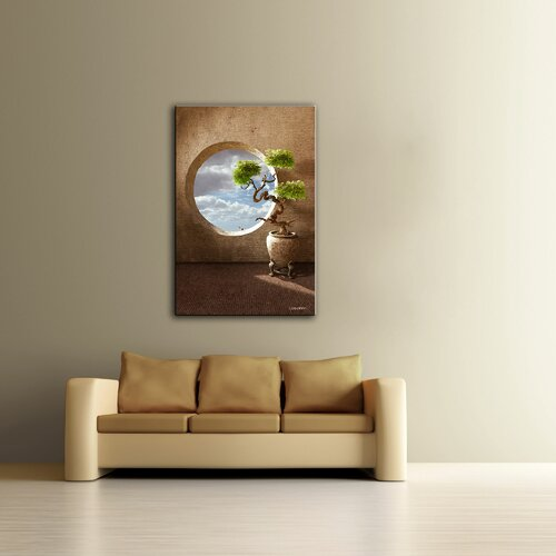 Art Wall 'Haiku' by Cynthia Decker Photographic Print on Canvas