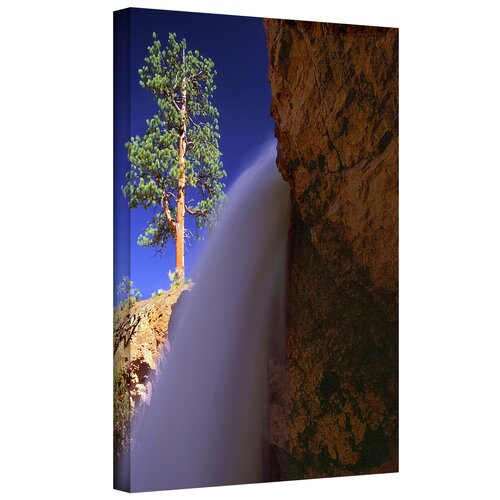 'Creek Fall at Bryce Canyon' by Dean Uhlinger Photographic Print Gallery-Wrapped on Canvas