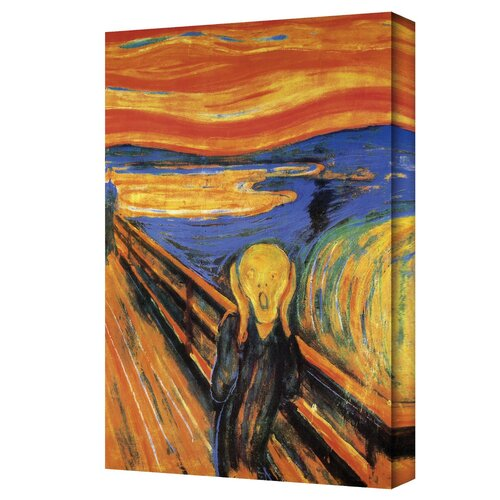 ''The Scream'' by Edvard Munch Painting Print on Canvas