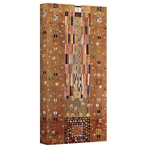 Art Wall ''Abstract Frieze'' by Gustav Klimt Painting Print on Canvas