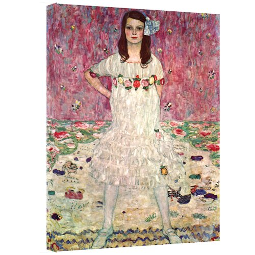 Art Wall ''Eugenia Primavesi'' by Gustav Klimt Painting Print on Canvas