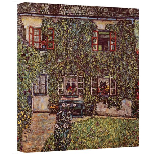 Art Wall ''House of Guardaboschi'' by Gustav Klimt Painting Print on Canvas