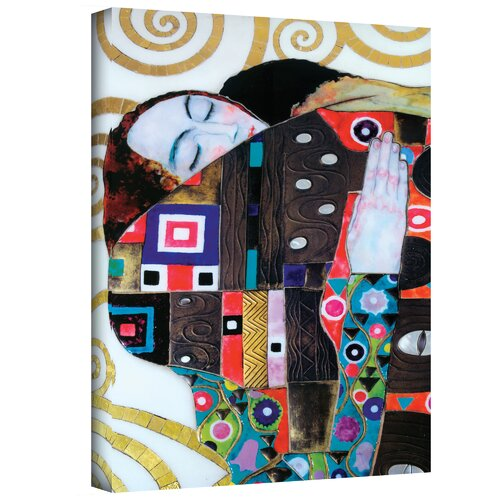 Art Wall ''Beethoven Frieze'' by Gustav Klimt Painting Print on Canvas