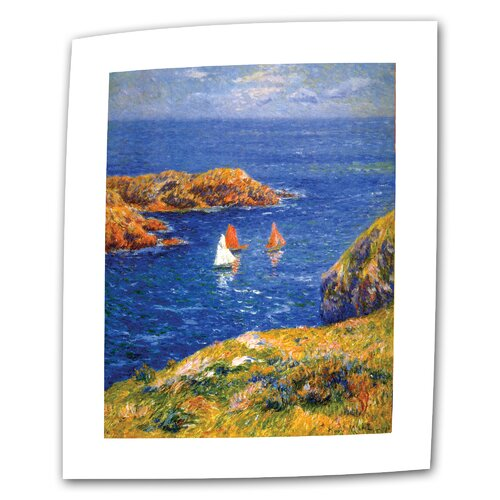 "Art Wall ""Calm Seas"" by Henri Moret Painting Print on Canvas"