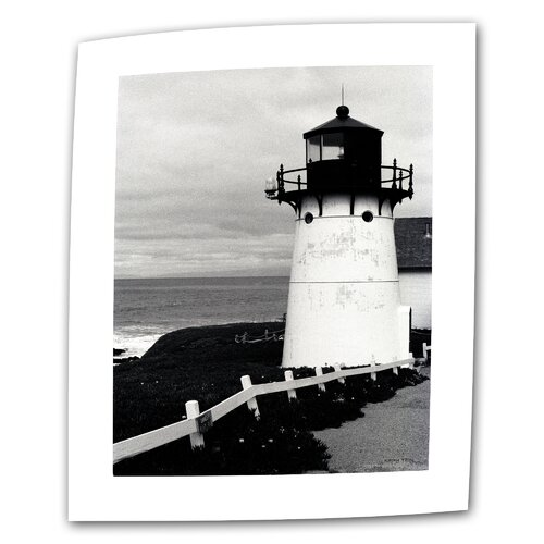 "Art Wall ""Montara Lighthouse"" by Kathy Yates Photographic Print on Canvas"