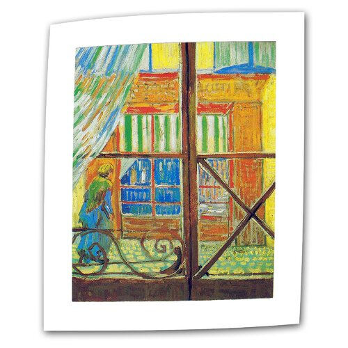 "Art Wall ""Pork-Butcher's Shop Through the Window"" by Vincent van Gogh Painting Print on Canvas"