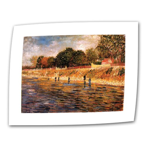 "Art Wall ""Banks of the Seine"" by Vincent van Gogh Painting Print on Canvas"