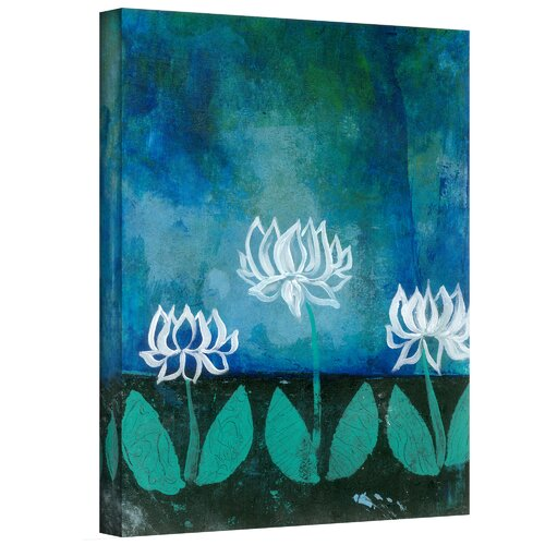 Art Wall 'Lotus Blossoms' by Elena Ray Photographic Print on Canvas