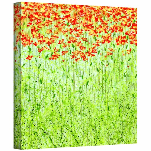 Art Wall 'Spring Arabesque' by Herb Dickinson Painting Print on Canvas