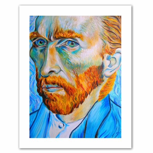 Art Wall 'My Own Private Vincent van Gogh' by Susi Franco Painting Print on Canvas