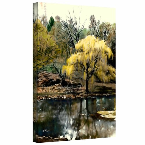 'Spring, Central Park' by Linda Parker Photographic Print on Canvas