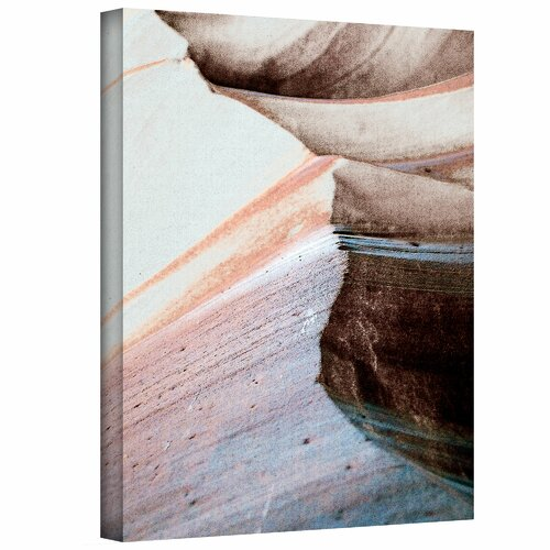 Art Wall 'Desert Sands Mountain' by Linda Parker Painting Print on Canvas