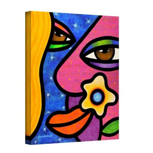 'Morning Gloria' by Steven Scott Painting Print on Canvas