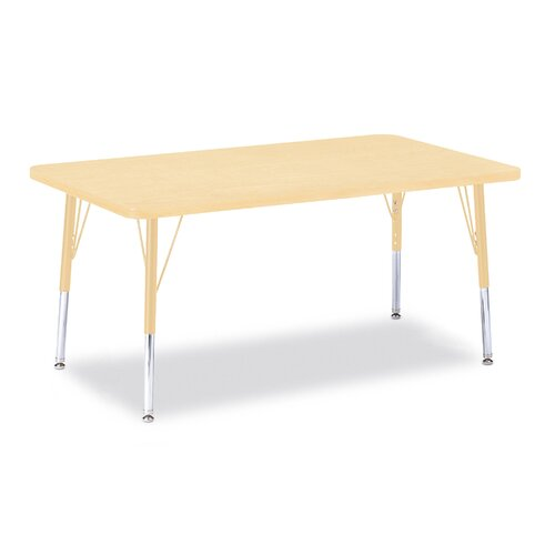 "Jonti-Craft Berries 48"" x 30"" Rectangular Classroom Table"