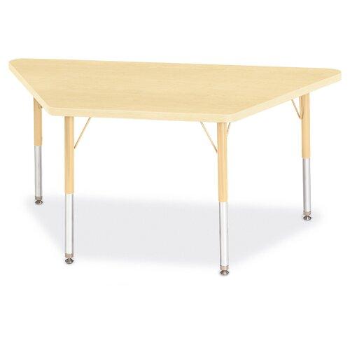 "Jonti-Craft Berries 48"" x 24"" Trapezoidal Classroom Table"