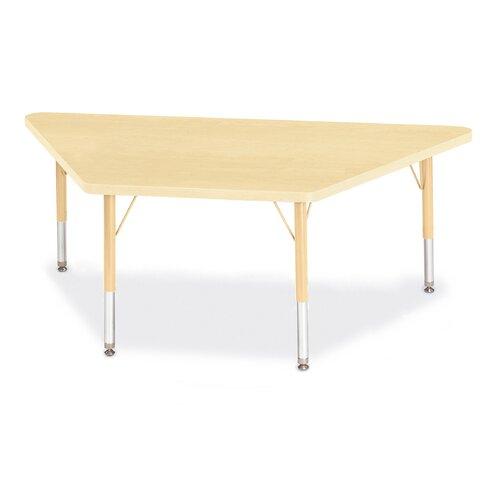 "Jonti-Craft Berries 60"" x 30"" Trapezoidal Classroom Table"