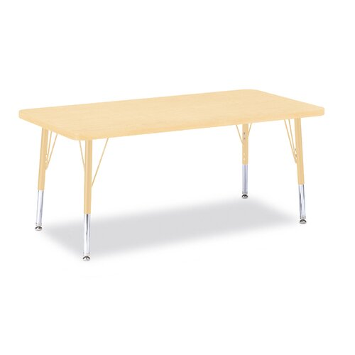 "Jonti-Craft Berries 48"" x 24"" Rectangular Classroom Table"