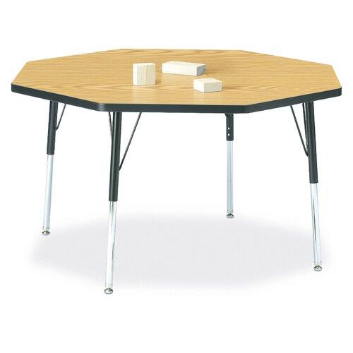 "Jonti-Craft KYDZ 48"" Octagon Classroom Table"