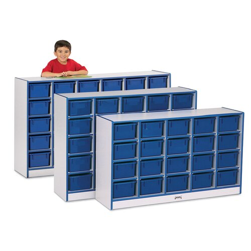 Jonti-Craft Rainbow Accents 20 Compartment Cubby