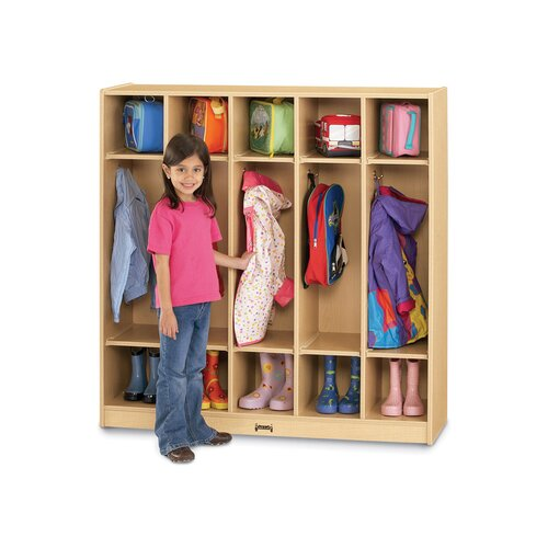 Jonti-Craft 5 Sections-Coat Locker