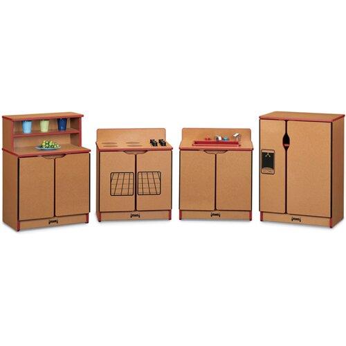 Jonti-Craft Sproutz 4 Piece Kinder-Kitchen Set