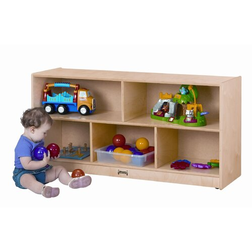 Jonti-Craft ThriftyKYDZ Toddler Single Mobile Storage Unit