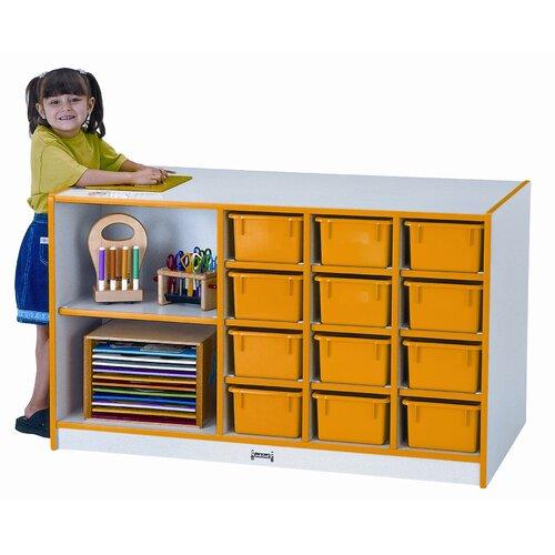 Jonti-Craft Storage Island 14 Compartment Cubby