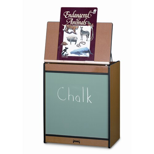 Jonti-Craft Sproutz Chalkboard Big Book Easel
