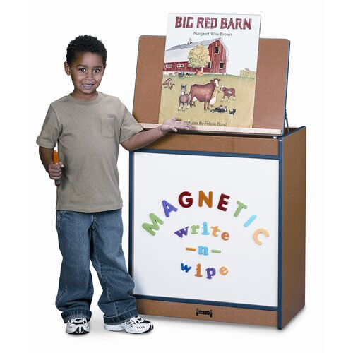 Jonti-Craft Sproutz Magnetic Write-N-Wipe Big Book Easel